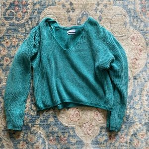 Urban Outfitters Turquoise Sweater